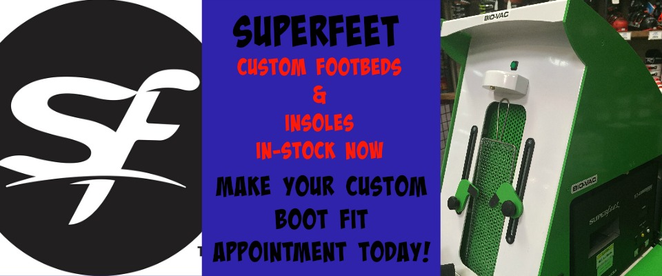 SUPERFEET FOOTBED SLIDER
